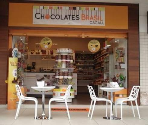 LOJAS CHOCOLATES BRASIL CACAU – LAYOUT 2:   por ACP ARQUITETURA