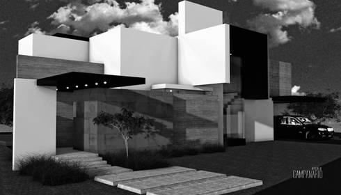 Bosquejo Casa Campanario:  de estilo  por Home & House Studio