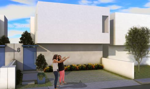 Casa Mirador : Casas de estilo clásico por Home & House Studio