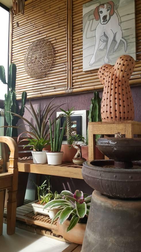 Terrazas de estilo  por Lucio Nocito Arquitetura e Design de Interiores