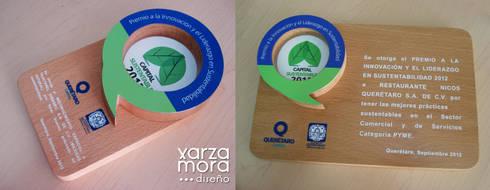 Premio de sustentabilidad 2013:  de estilo  por Xarzamora Diseño