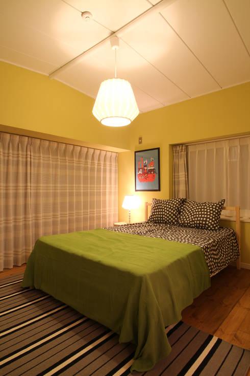 K's HOUSE: dwarfが手掛けた寝室です。