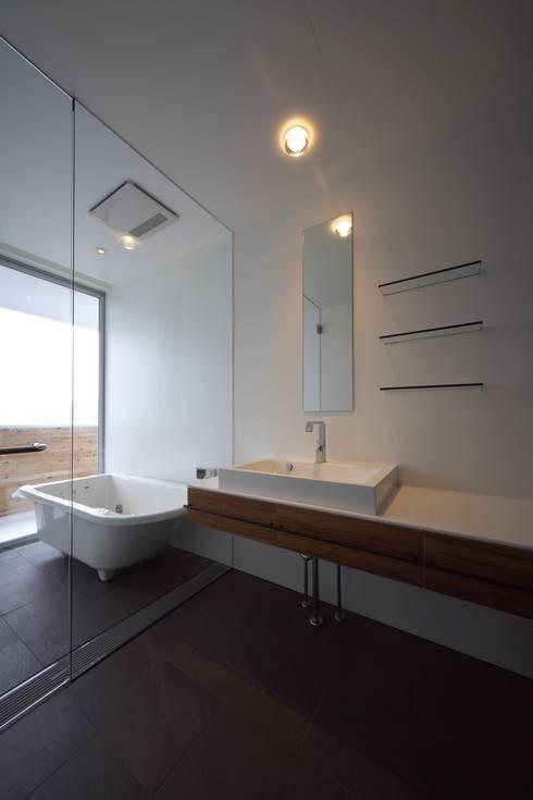 TT: 株式会社廣田悟建築設計事務所が手掛けた浴室です。