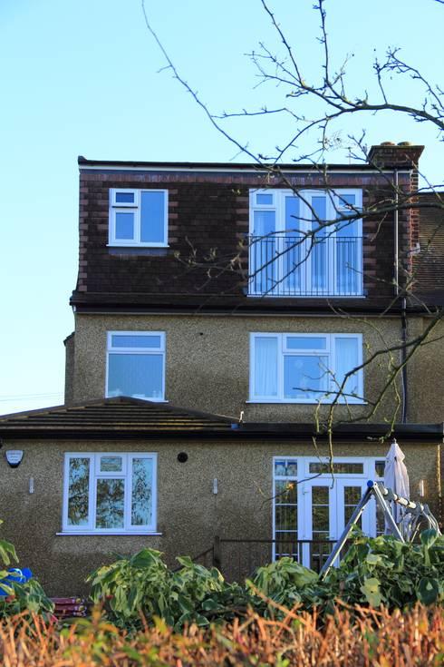 Loft Conversion, Rayners Lane:  Houses by London Building Renovation