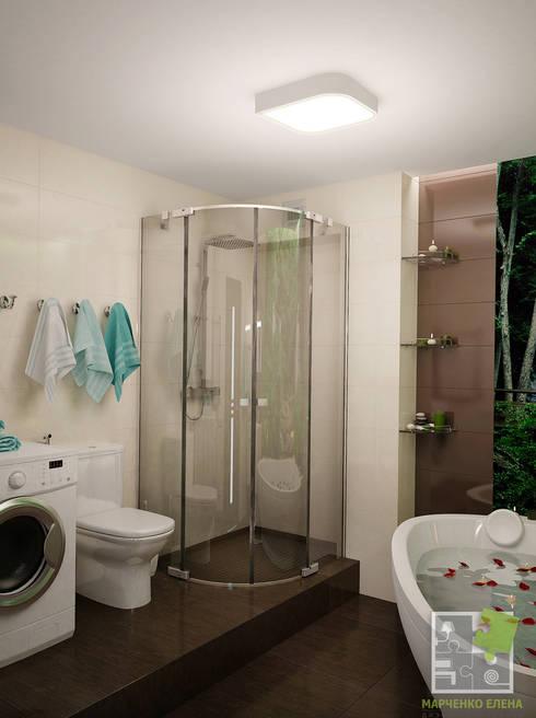 Санузел: Ванные комнаты в . Автор – Елена Марченко