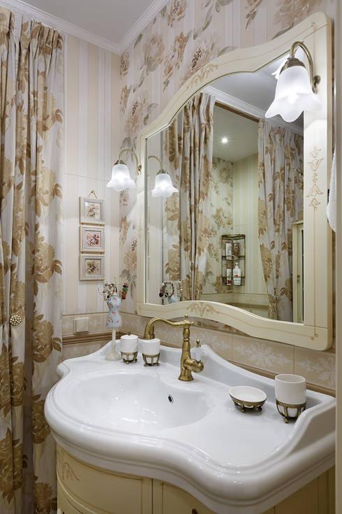 квартира на ВО, Галерный проезд д.5.: Ванные комнаты в . Автор – Valeria Ganina