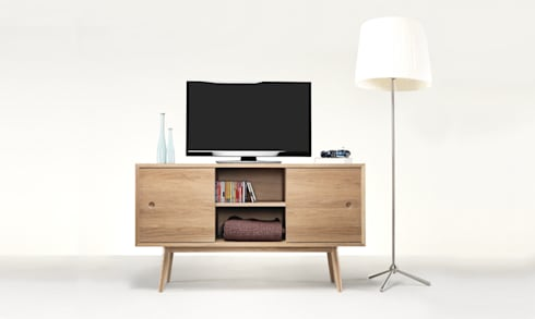 CLASSIC SIDEBOARD: Casa  por Wewood - Portuguese Joinery