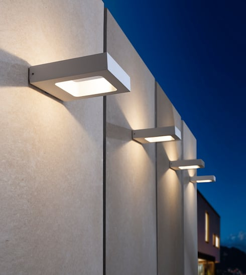Balcon, Veranda & Terrasse de style  par click-licht.de GmbH & Co. KG