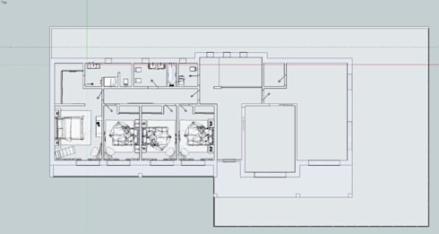 Projecto Moradia Baião:   por Royal Art Projetos Design de Interiores