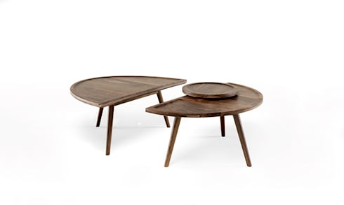 COLOMBO COFFEE/SIDE TABLE: Casa  por Wewood - Portuguese Joinery