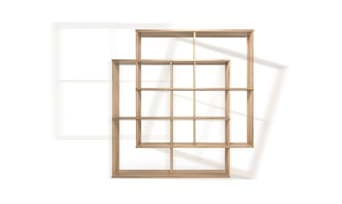 X2 SMART SHELF: Casa  por Wewood - Portuguese Joinery