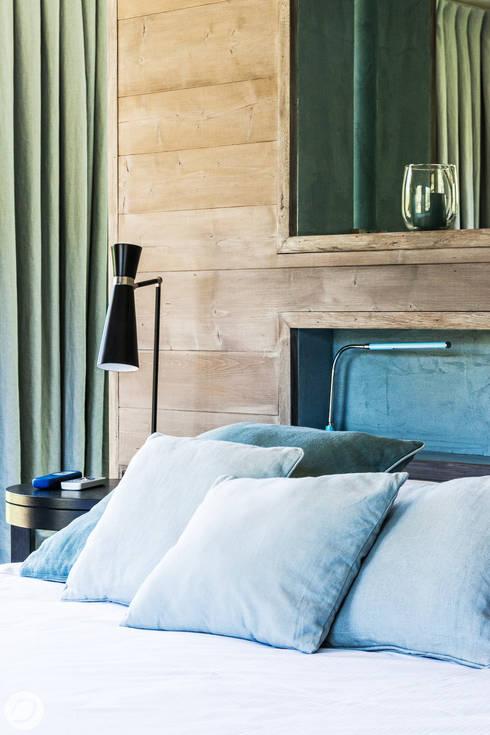 Dormitorios de estilo  de PASSAGE CITRON