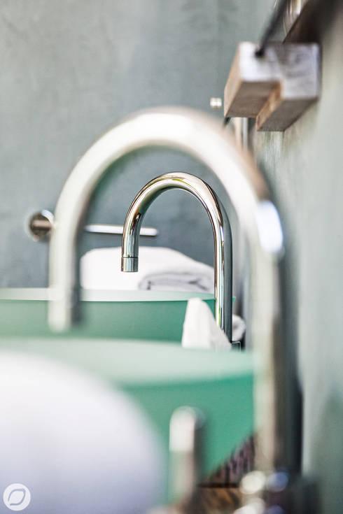 mediterranean Bathroom by PASSAGE CITRON
