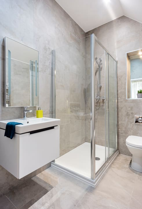 Bathroom by WN Interiors of Poole in Dorset