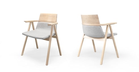 PENSIL CHAIR FAMILY: Casa  por Wewood - Portuguese Joinery