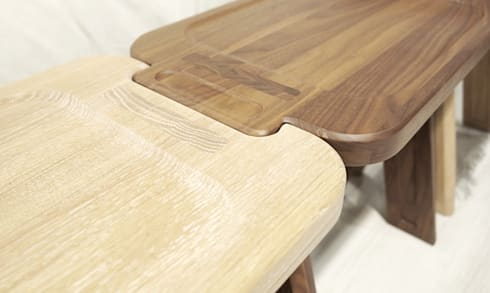 MULTIBANQUETA STOOL: Casa  por Wewood - Portuguese Joinery