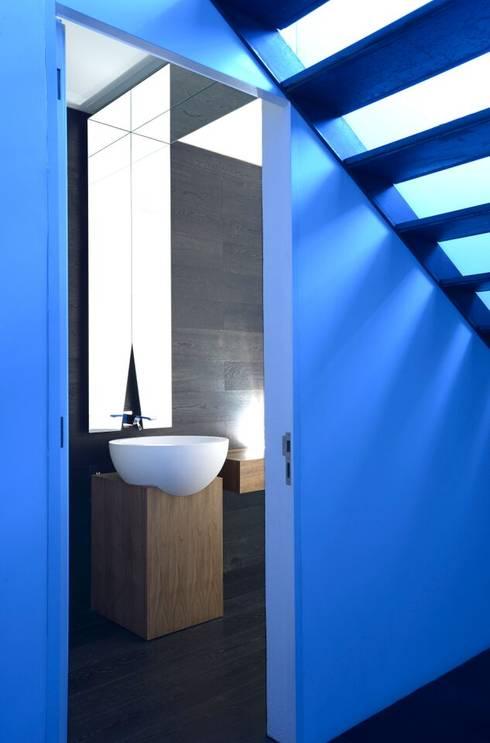 Campanario: Baños de estilo  por Axel Duhart Arquitectos