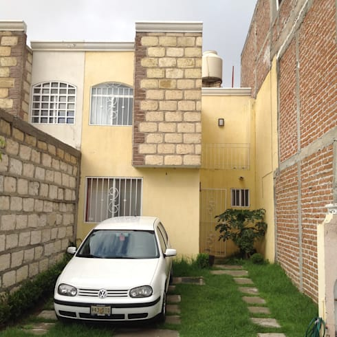 Remodelación casa Brisas del Carmen:  de estilo  por Flores Rojas Arquitectura