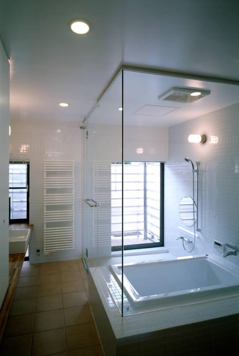 桐山和広建築設計事務所의  욕실