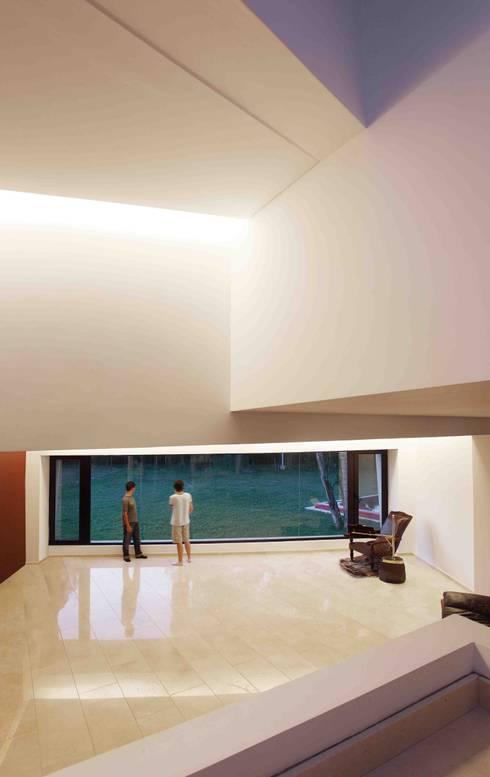 Casa Orquidea: Livings de estilo moderno por Remy Arquitectos