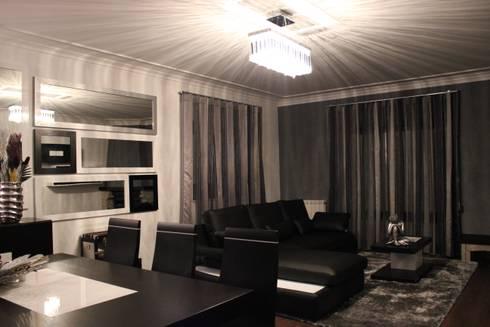 Viana do castelo : Sala de estar  por Mobicouto Lifestyle