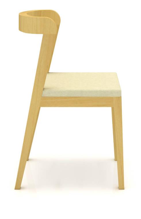 Silla – Priani: Salas de estilo minimalista por diesco