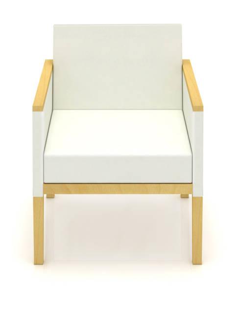 Alborada: Salas de estilo minimalista por diesco