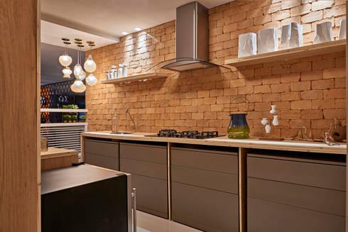 Decora Líder Brasília - Apartamento Urbano: Salas de estar modernas por Lider Interiores