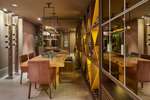 Decora Líder Brasília - Morada da Família Tignaello: Salas de jantar modernas por Lider Interiores