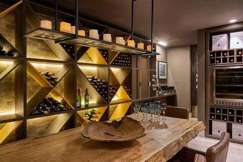 Decora Líder Brasília – Morada da Família Tignaello: Salas de jantar modernas por Lider Interiores