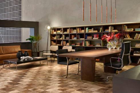 Decora Líder Brasília – Showroom: Escritórios  por Lider Interiores