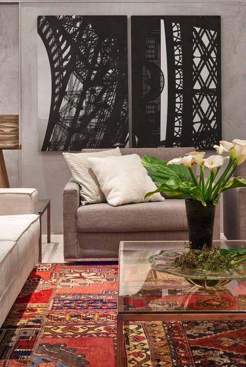 Decora Líder Brasília – Showroom: Salas de estar modernas por Lider Interiores