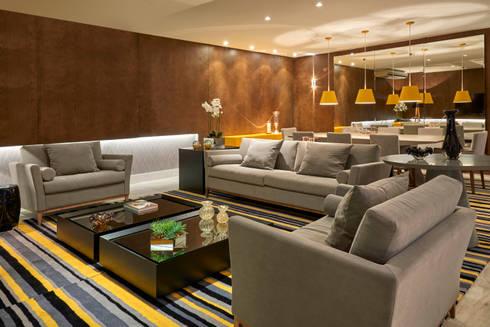 Decora Líder Brasília - Estar e Jantar: Salas de estar modernas por Lider Interiores