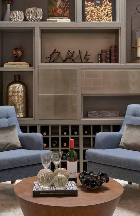 Decora Líder Belo Horizonte - Sala de Jantar: Salas de estar modernas por Lider Interiores
