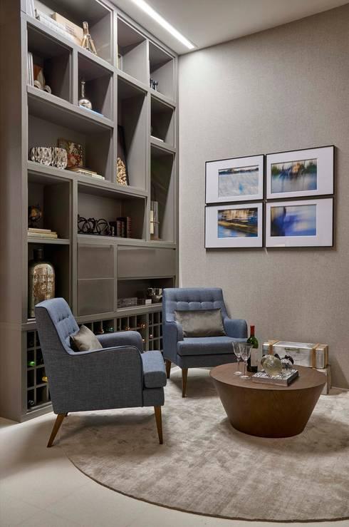 Decora Líder Belo Horizonte – Sala de Jantar: Salas de estar modernas por Lider Interiores