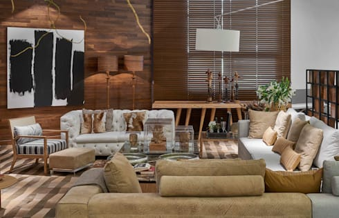 Decora Líder Belo Horizonte - Sala de Estar: Salas de estar modernas por Lider Interiores