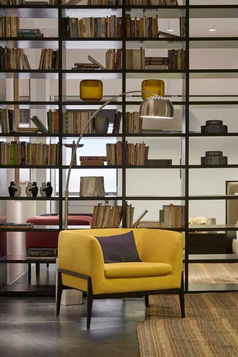 Decora Líder Belo Horizonte - Loft: Salas de estar modernas por Lider Interiores