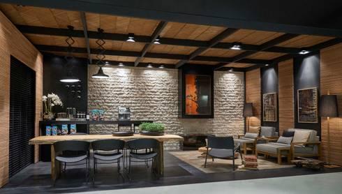 Decora Líder Belo Horizonte - Terraço Lider: Salas de jantar modernas por Lider Interiores