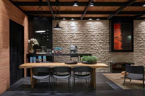Decora Líder Belo Horizonte – Terraço Lider: Salas de jantar modernas por Lider Interiores