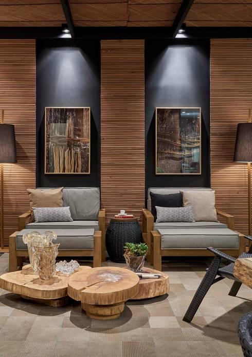 Decora Líder Belo Horizonte – Terraço Lider: Salas de estar modernas por Lider Interiores