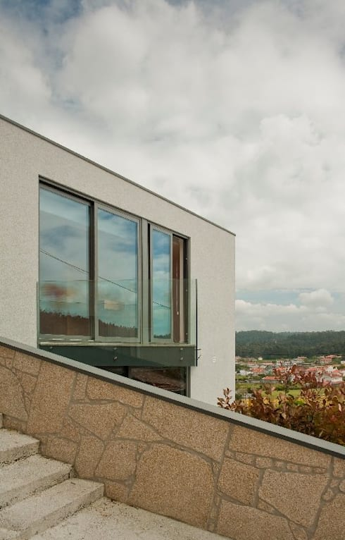 Casa MS: Casas modernas por 136F - Arquitectos