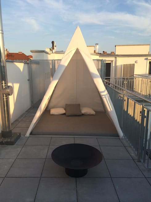 Jardin de style de style Moderne par Wohndesign Maierhofer