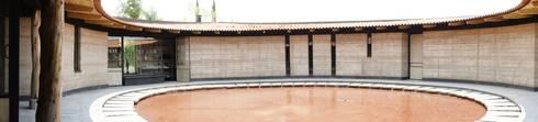 Casa Estudio Sabinos: Casas de estilo moderno por Juan Carlos Loyo Arquitectura