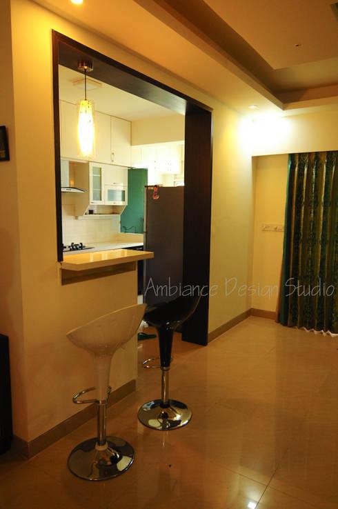 Mr Siddhart Shandilya: minimalistic Dining room by Ambiance Design Studio