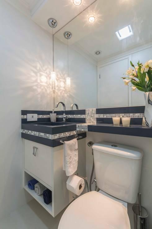 Baños de estilo  por Silvana Borzi Design