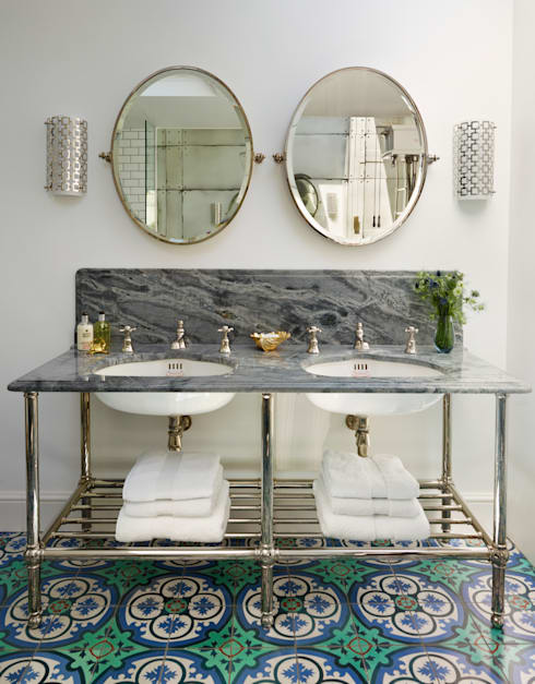 Victorian Terrace House, South-West London: industrial Bathroom by Drummonds