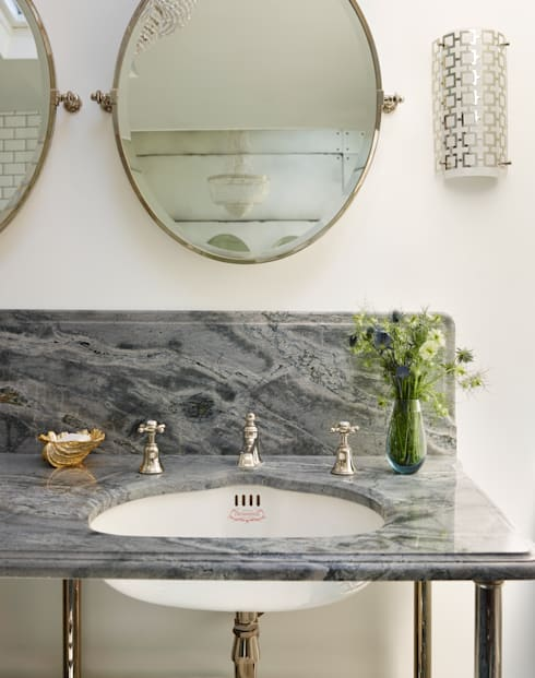 Victorian Terrace House, South-West London: minimalistic Bathroom by Drummonds