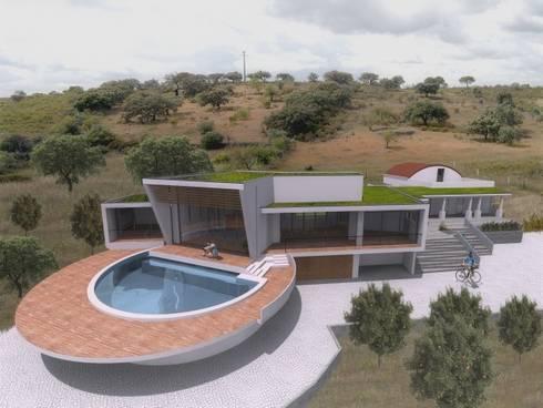 Casa Zen: Casas modernas por CORE Architects
