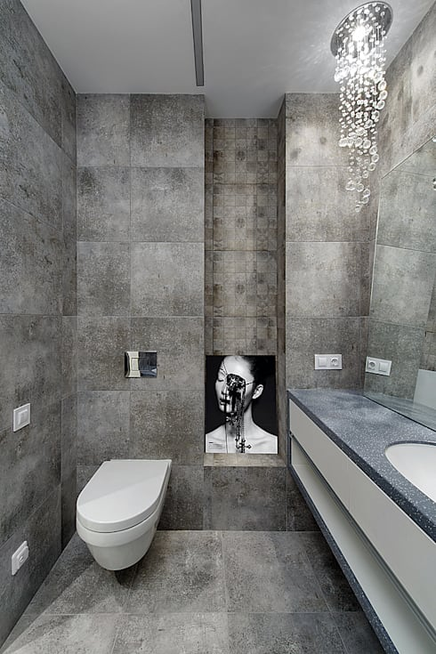 bathroom:  Badkamer door Olga Kravchuta design
