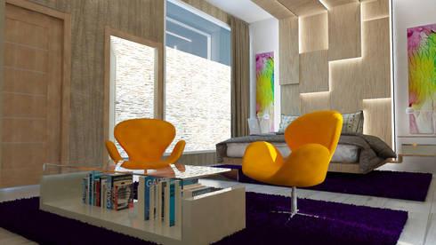 Lineal Room.!: Hogar de estilo  por Mayerlinalva